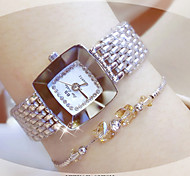 Women's Fashion Watch Bracelet Watch Unique Creative Watch Casual Watch Chinese Quartz Water Resistant / Water Proof Stainless Steel Band
