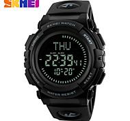 Men's Sport Watch Dress Watch Smart Watch Fashion Watch Digital Watch Wrist watch Chinese Digital Calendar Large Dial Silicone Band Charm