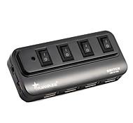Недорогие -4 порта USB 2.0 высокоскоростной концентратор 480 МП с коммутатором