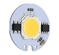 baratos -9w redondo cob levou chip inteligente ic ac 220v para diy teto luz downlight projector branco morno / frio (1 peça)