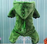 Недорогие -Собака Костюмы Одежда для собак Животное Хлопок Костюм Для домашних животных Косплей