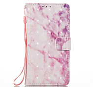 For Sony Xperia XA Xperia E5 Case Cover Pink Pattern 3D Painted Card Stent Wallet Phone Case