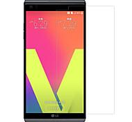 Недорогие -Защитная плёнка для экрана LG для LG V20 Закаленное стекло 1 ед. Защитная пленка для экрана Уровень защиты 9H HD