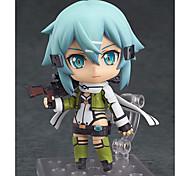 baratos -Figuras de Ação Anime Inspirado por Sword Art Online Fantasias PVC 10 CM modelo Brinquedos Boneca de Brinquedo Unisexo