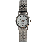 Women's Fashion Watch Japanese Quartz / Stainless Steel Band Casual Silver