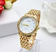 cheap -Women's Bracelet Watch Quartz Stainless Steel Band Silver Gold Rose Gold