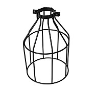 Vintage Industrial DIY Black Metal Bird Cage Lamp Shade Lighting Cover for Pendant Lights Wall Lights Replacement Lamp Cover