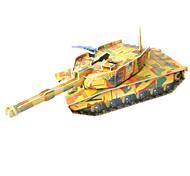 cheap -3D Puzzles Jigsaw Puzzle Model Building Kit Tank 3D DIY High Quality Paper Classic Boys' Unisex Gift