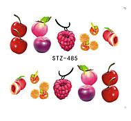 15Styles/set Summer Hot Fashion Nail Art Water Transfer Decals Sweet Style Ice Cream Fruit Design Nail Art Creative Decoration DIY Sticker STZ474-488
