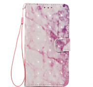 For LG K8 (2017) K10 (2017) Case Cover Pink Pattern 3D Painted Card Stent Wallet Phone Case For LG K7 K8