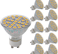 cheap -10pcs 5W 380lm GU10 MR16 E26 / E27 LED Spotlight 29 LED Beads SMD 5050 Decorative Warm White Cold White 220-240V