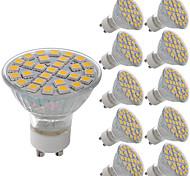 Недорогие -10 шт. 5W 380lm GU10 MR16 E26 / E27 Точечное LED освещение 29 Светодиодные бусины SMD 5050 Декоративная Тёплый белый Холодный белый