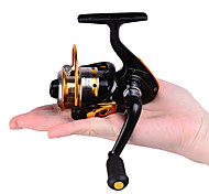 cheap -HiUmi MINI Small Fishing Reels 10bb 5.21 Carretilha Pesca Fly Fishing Wheel Spinning Reel Metal 150 Size Reel