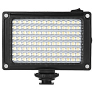 Andoer AD-112 Mini Portable On-camera LED Video Fill-in Light Panel 5500K / 3200K CRI85 With White & Orange Filters for Canon Nikon Sony