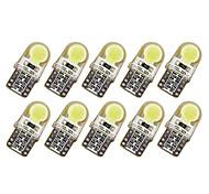 10шт t10 cob led 150ma силиконовый чехол для инструментов лампа номерного знака лампочка клин лампа автомобиля стиль удержал 7 цветов