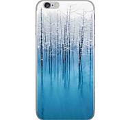 Случай для яблока iphone 7 7 плюс крышка случая крышка диаграмма hd покрасила более толстый материал tpu мягкий случай случая телефона для