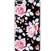 Недорогие -Случай для яблока iphone 7 плюс iphone 7 крышка картины задняя крышка случая цветка мягкая tpu для iphone 6s плюс iphone 6 плюс iphone 6s