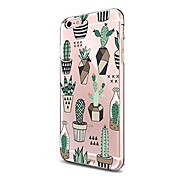Case For IPhone 7 6 Tree TPU Soft Ultra-thin Back Cover Case Cover iPhone 7 PLUS 6 6s Plus SE 5s 5 5C 4S 4