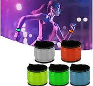 Party Glowing Bracelet LED Lights Flash Wristband Running Gear Glowing Ramdon Color