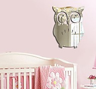 3D Owl Mirror Vinyl Removable Wall Sticker Decal Home Room Decor Art