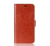 Case for Huawei P10 Plus P10 Lite Cover Card Holder Wallet with Stand Flip Full Body Case Solid Color Hard PU Leather for Huawei P10 Honor 9