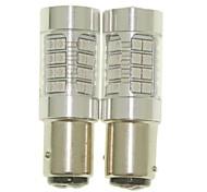 Sencart 2pcs 1142 Ba15d Bulb Led Car Tail Turn Reverse Light Bulb Lamps(White/Red/Blue/Warm White) (DC/AC9-32V)