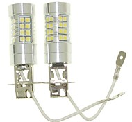 cheap -SENCART 2pcs H3 Car Light Bulbs 36W SMD 3030 1500-1800lm LED Light Bulbs Fog Light