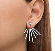 Women's Stud Earrings Fashion Punk Alloy Irregular Jewelry For Casual
