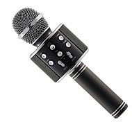 WS-858 Mic Karaoke Microphone Wireless headphone Mini Portable Wireless Bluetooth 4.1 bluetooth Speaker WS858 Outdoor KTV