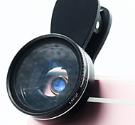 LIEQI LQ-038 Phone Lens Lens with Filter Macro Lens Aluminum 15X Cell Phone Camera Lenses Kit for Samsung Android  Smartphones iPhone