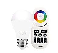 cheap -6W E27 LED Smart Bulbs A60(A19) 20 leds SMD 5730 Infrared Sensor Dimmable Remote-Controlled WIFI APP Control Light Control Warm White