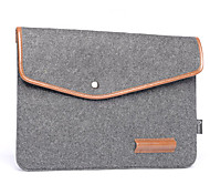 Notebook Liner Pack Leather Wool Felt Computer Bag  16 Inches