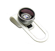 IDRY 016 Mobile Phone Lens Fish-Eye Lens 0.36X Wide-Angle Lens 13X Macro Lens Aluminium Alloy ABS Glass For Android Cellphone iPhone
