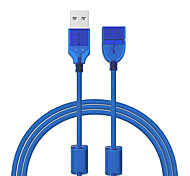 cheap -Cwxuan USB 2.0 Extension Cable, USB 2.0 to USB 2.0 Extension Cable Male - Female 1.2m(4Ft) 480 Mbps