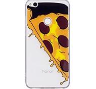 Недорогие -Чехол для huawei p10 lite p10 чехол для пиццы шаблон tpu материал imd craft для мобильного телефона для huawei p8 lite (2017)