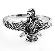 Муж. Жен. Браслет цельное кольцо Браслет разомкнутое кольцо Браслет Мода Панк По заказу покупателя Открытые МеталликТитановая сталь