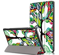 Print Case Cover for Lenovo Tab4 Tab 4 10 Plus X704F TB-X704F Tab4-X704N with Screen Protector