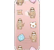 Чехол для Apple iphone 7 7 плюс чехол чехол для леночной ткани окрашенный высокопроницаемый материал tpu мягкий чехол для телефона для