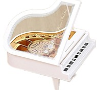 Music Box Toys Piano Musical Instruments Plastics Wood Pieces Kid Unisex Birthday Gift