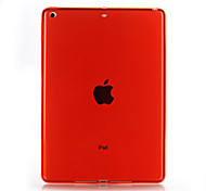 cheap -Case For Apple iPad Mini 4 iPad 4/3/2 iPad Air 2 iPad Air Transparent Back Cover Solid Color Soft TPU for iPad Mini 4 iPad 4/3/2 iPad Air