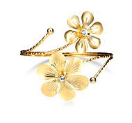 Women's Cuff Bracelet Jewelry Basic Fashion Punk Personalized Hip-Hop Luxury Costume Jewelry Alloy Circle Geometric Jewelry For Party New