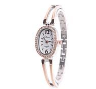 Women's Dress Watch Fashion Watch Wrist watch Simulated Diamond Watch Chinese Quartz Imitation Diamond Alloy Band Charm Heart shape