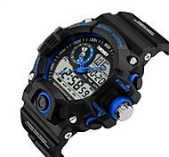 Смарт-часы Защита от влаги Длительное время ожидания Спорт Многофункциональный Секундомер будильник С двумя часовыми поясами Календарь