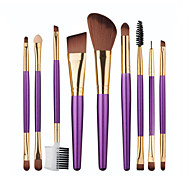 cheap -1set Makeup Brushes Professional Makeup Brush Set / Blush Brush / Eyeshadow Brush Synthetic Hair Beech Wood