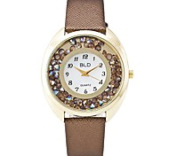 XU Women's  Quicksand Diamond Casual Wrist Watch