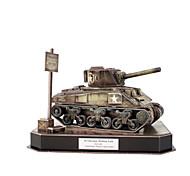 DIY KIT 3D Puzzles Jigsaw Puzzle Toys Tank 3D DIY Male Boys Pieces
