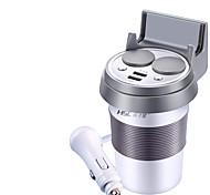 hsc hsc-500 автомобильное зарядное устройство 2 выхода 2 порта USB 3.1a dc 12v-24v