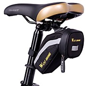 West biking Fahrradtasche Fahrrad-Sattel-Beutel Reflexstreifen Regendicht Wasserdichter Reißverschluß Leicht Tasche für das Rad Stoff