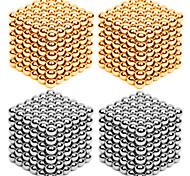 DIY KIT Magnet Toys Super Strong Rare-Earth Magnets Magnetic Balls Stress Relievers 216*4 Pieces 3mm Toys Metal Contemporary Classic &