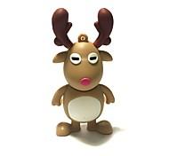 Недорогие -32gb рождество usb флеш-накопитель мультфильм рождественский олень рождественский подарок usb 2.0